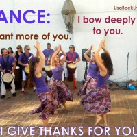 Grateful for Dance with Lisa Beck Living