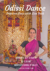 Odissi Summer Practice Class @ Montecito School of Ballet | Santa Barbara | California | United States