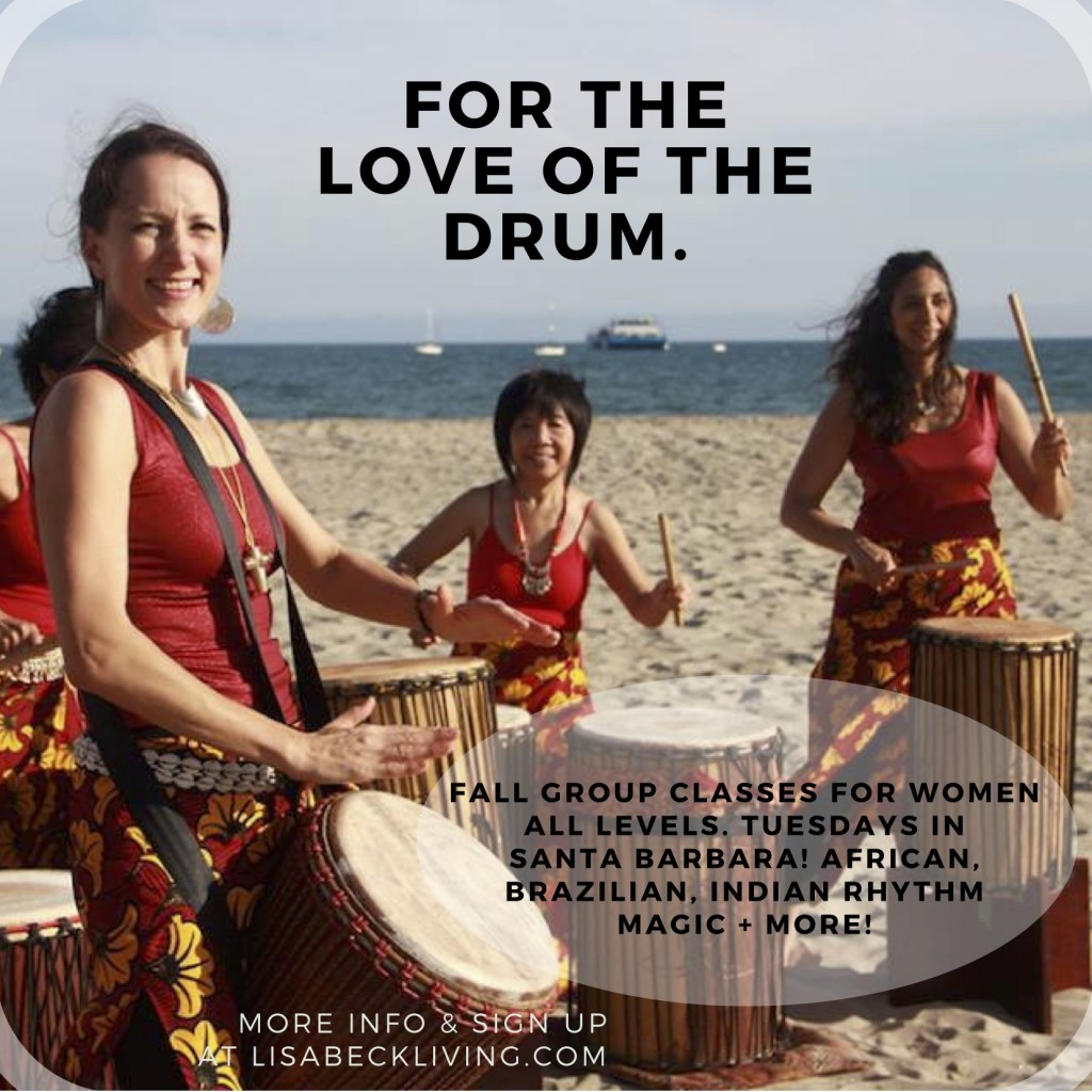 Fall GROUP classes for womenAll levels. tuesdays inSanta barbara! African,Brazilian, Indian rhythmMagic + more! (1)