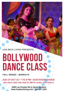 Bollywood Dance Series @ Gustafson Dance | Santa Barbara | California | United States